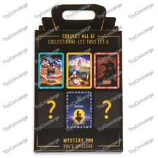 Disney Movie Poster Mystery Pin Little Mermaid Beauty and The Beast Or...