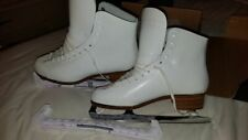 New 9.5 Sabrina Professional Figure Skates with guards Look!