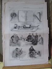 Vintage Print,THE PHONOGRAPH,March 1875,Harpers