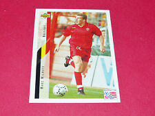 MARC WILMOTS BELGIË DIABLES ROUGES FOOTBALL CARD UPPER USA 94 PANINI 1994 WM94