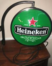 HEINEKEN LAGER BEER PUB LIGHT Double Sides Wall BIG