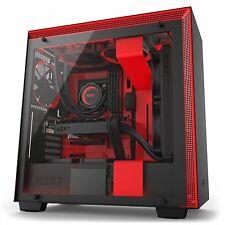 Nzxt H700i mate torre ATX Negra/roja