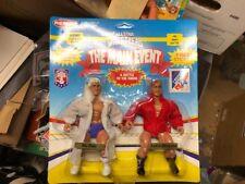 Remco AWA Ric Flair & Larry Zbyszko Figures MOC - WWE/WWF AFA quality BEST EVER!