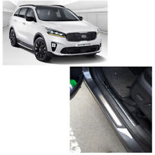 Genuine 4 Set Door Trim Step Plate Guards Protector Cover for Kia Sorento 2016 +