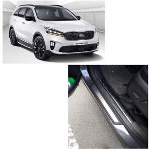 Genuine OEM 4 Set Door Trim Step Plate Guards Protector for Kia Sorento 2016 +