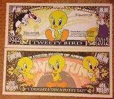 Tweety Bird Million Dollar Bill