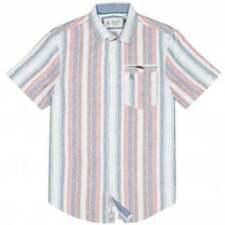 Camicie casual e maglie da uomo multicolore in cotone con colletto