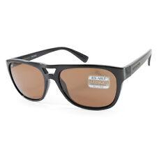 Serengeti Tommaso 7957 Shiny Black/Brown Polarised Unisex Sunglasses