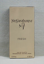 YSL YVES SAINT LAURENT M7 FRESH EDT 100 ML / 3.3 FL EAU DE TOILETTE NEW & SEALED