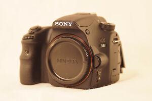 Sony Alpha SLT-A58 20.1 MP SLR-Digitalkamera (nur Gehäuse/Body)