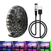 Waterproof LED Strip Lights 5050 RGB LED Rope Lights Bluetooth Remote Control