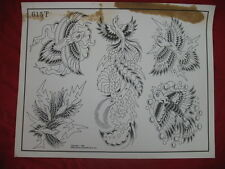 1986 Spaulding & Rogers Flash Art Exotic Birds Page 615T