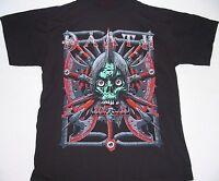 Daath - Green Skull - T-Shirt - Größe Size L - Neu