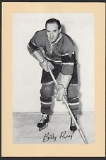 1945-1964 Beehive Group II 2 Hockey Billy Reay Montreal Canadiens Single