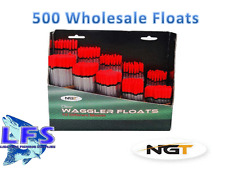 500 Assorted Loaded Fishing Waggler Floats Wholesale Carp Coarse Fishing Tackle
