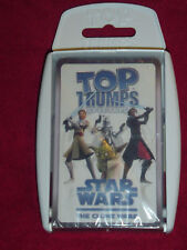 Star Wars THE CLONE WARS Top Trumps Card Game New!