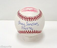 STACY SANCHES signed Baseball with KISS Playmate of the Year 1996 auto PMOY06