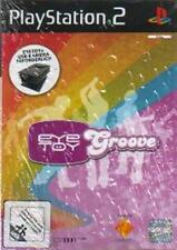 PLAYSTATION 2 Eye Toy Play Groove tedesco * * come nuovo