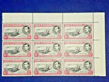 ASCENSION George VI KGVI SG40d MNH [See desc] WITHOUT Buoy Flaw - Proving Piece