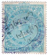 (I.B) Cape of Good Hope Revenue : Stamp Duty 3/- (1896)
