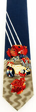 Two By Two Mens Neck Tie Religious Blue Necktie Noahs Ark Bible Story Gift New