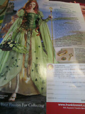 Franklin Mint BRIANNA Princess of Tara Doll Magazine Ad Advertisement