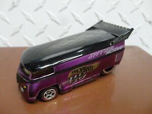 Loose Hot Wheels Purple Interactive 30th Anniversary Volkswagen Drag Bus