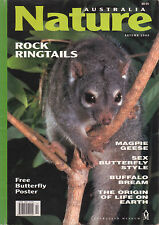 AUSTRALIA NATURE Autumn 2000 ROCK RINGTAILS GEESE BUTTERFLY **USED COPY**