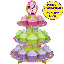 MINNIE MOUSE PARTY SUPPLIES WILTON CUPCAKE STAND BIRTHDAY TREAT CAKE HOLDER