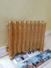 Dolls House Miniatures 1:12th Scale Gold Radiator D2329  New