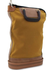 NEW Regulation Post Office Security Mail Bag, Zipper Lock, 14w x 18h GOLD