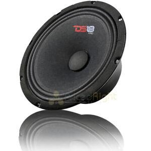 "DS18 PRO-GM8SE 8"" Midrange Speaker 480 Watts Max Power 8 Ohm Sealed Back"