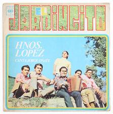 HERMANOS LOPEZ & JORGE OÑATE El jardincito PROMO vallenato colombia 1971 CBS LP