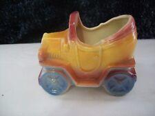Vintage Shawnee Pottery Ceramic Antique Car Planter Vase 1950's
