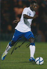 Marvin SORDELL Signed Autograph 12x8 Photo AFTAL COA England Football AUTHENTIC
