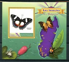 Madagascar 2016 neuf sans charnière insectes papillons 1v s/s diadem butterfly timbres