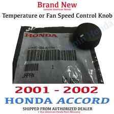 Genuine OEM Honda Accord Fan / Temp Control Knob 2001-2002 Sold Individually