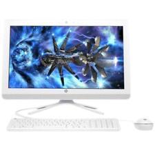 "HP 22-b016 All in one Pentium J3710 21.5"" FHD 4GB 1TB DVD/CDRW Win10 White"