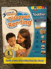 Hooked On Phonics Discover Reading Toddler Edition Full Set (18-36 months)
