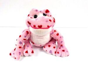 Webkinz Ganz Love Frog Plush Stuffed Animal Toy