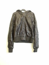 Faux Leather Tall Zip Coats & Jackets for Women