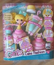 NEW LALALOOPSY GIRLS BIRTHDAY CAKE FASHION DOLL CANDLE SLICE O' CAKE LALA LOOPSY