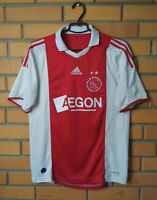 Ajax Jersey 2009 2010 Home SMALL Shirt Soccer Adidas Football Trikot Maglia