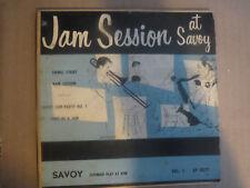 45RPM Savoy XP 8077 EP Jam Session at Savoy Vol. 1, Byas, Winding, etc nice E-V+