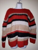 & Other Stories Stripe Chunky Knit Jumper Medium 10-12-14