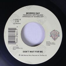 Soul 45 Morris Day - Don'T Wait For Me / Love Is A Game On Wb Records