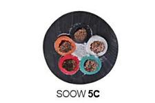 12/5 SOOW SO Portable Indoor Outdoor Cable 600V Black - 50'