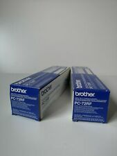 BROTHER PC72RF FAX MACHINE ROLL TWIN PACK  2x pack