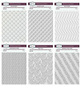 Creative Expressions - Sue Wilson 3D Embossing Folders - NEW 2020 - MULTIBUY