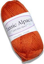 Classic Alpaca 100% Baby Alpaca Yarn #2201 Sweet Potato 50g/110 yds DK Peruvian